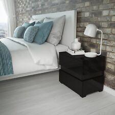 Black Bedside Tables & Cabinets