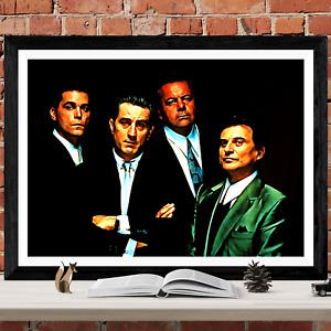 Goodfellas Good fellas Movie Poster Art Picture Print