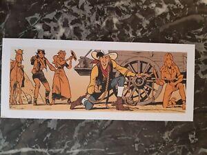 Ex-libris Wanted Lucky Luke-Matthieu Bonhomme-Dargaud