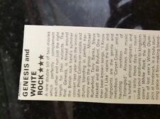 m4-8b ephemera 1970s film review genesis and white rock