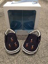 New In Box Baby Boy Ralph Lauren Shoes Pram Shoes