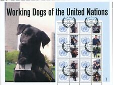 UNITED NATIONS NEW YORK - WORKING DOGS OF THE UNITED NATIONS F.D. APRIL.7.2011