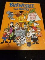 Vintage Bullwinkle and Rocky Role Playing Party Game 1988 Board Game READ