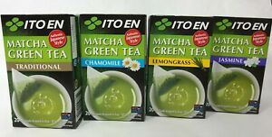Ito En Matcha Green Tea Traditional or Special Blend One Box of 20 tea bags