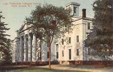 North Scituate Rhode Island Pentecostal Collegiate Institute Postcard K102526