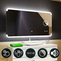 Badspiegel mit LED Beleuchtung Lichtspiegel Badezimmerspiegel Bad Spiegel Licht