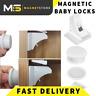 Baby Safety Magnetic Cabinet Lock Set Child Safety Locks Hidden Kids Proofing