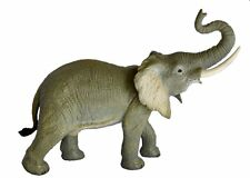 "Aaa 53009 Large 15"" African Elephant Animal Toy Model Figurine Replica - Nip"
