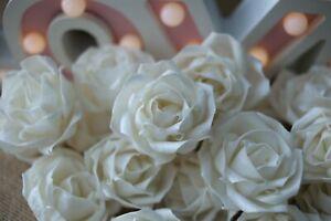 50 Rose Petal Roll 5 cm  Diffuser Flowers Sola Balsa Wood Wholesale Bouquet
