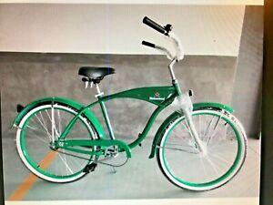 "26"" Men's Bike Bicycle Beach Cruiser Heineken Beer Collectible Advertising"