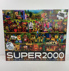 Aimee Stewart / Super 2000 ~ Jigsaw Puzzle ~ Cardinal ~ Wine ~ NEW / SEALED