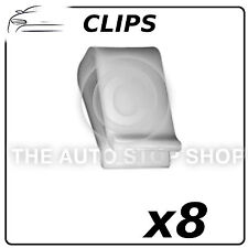 Clips Trim Fixings Bumper Peugeot 106/205/405 Pack of 8 Part Number: 1379