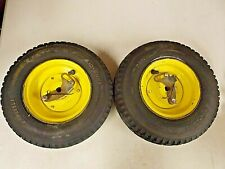 2 Transport Wheels Fit John Deere 180Sl 220Sl 260Sl E-Cut Walk Greens Mower