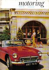 Motoring 3/67 Nuffield Mag MGs at Brooklands Caravan '67 Expo '67 Disc Brakes