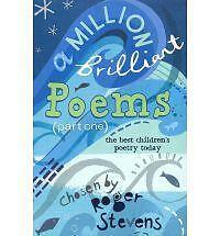"""VERY GOOD"" Stevens, Roger, A Million Brilliant Poems: Pt. 1: A Collection of th"
