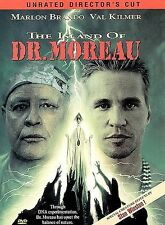 The Island of Dr. Moreau (DVD, 1997, Unrated Directors Cut) Brand New