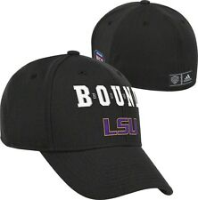 Adidas LSU Tigers BCS Bound Structured Flex Hat Cap Sz. M/L NEW