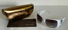 NEW! GUESS WHITE TRANSPARENT SUNGLASSES SHADES SUNNIES GU7092 $85 SALE