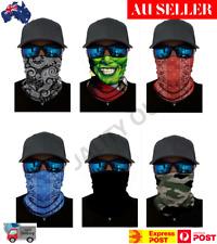 Bandana Face Mask Neck Gaiter Shield Fishing Headwear Biker Tube Scarf Cycle