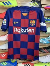 Nike Barcelona Home Jersey 19/20 Size Small