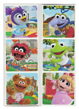 "25 Muppet Babies Stickers, 2.5"" x 2.5"" each, Party Favors"