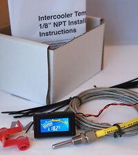 """Échangeur intermédiaire, indicateur de température d'admission d'air Kit 1/8 """"npt, turbo, JDM, drift"""