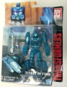 Blurr & Hyperfire Titans Return Transformers Beast Wars Figure