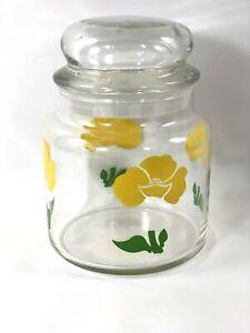 Juego de 6 tarros de cristal transparente para conservas etc tarros de cristal para conservas para JAM//Marmalada//Pickle//Chutney rojo y blanco con tapas de cuadros 8 cm