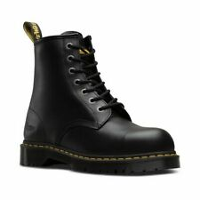Dr. Martens ICON 7B10 Safety Shoes Fine Haircell Industrial Safety Steel Toe UK9