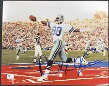 Michael Irvin Dallas Cowboys Signed 8x10 Photo Autographed GA COA