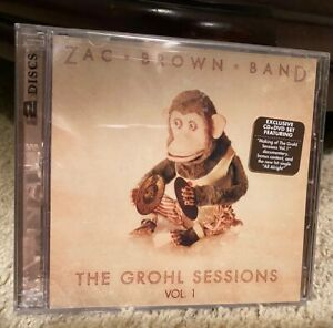 ZAC BROWN BAND - The Grohl Sessions Vol. 1 - Brand New / Sealed - RARE CD/DVD