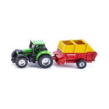 """SIKU 1676 Tracteur avec """" PÖTTINGER """" REMORQUE (boursouflure) NOUVEAU ! °"""