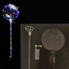 "Reusable LED Light Balloon Transparent Round Birthday Party Wedding 20"" Decor"