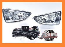 2004-2005 Honda Civic 2/4 DR JDM Clear Fog Lights Front Bumper Lamp FULL KIT