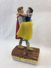 Bradford Exchange Disney Snow White Dwarfs Prince Limoges Style Box