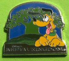 DISNEY WDW 4 PARKS BOOSTER PACK 2015 PLUTO ANIMAL KINGDOM TREE OF LIFE PIN