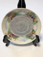 """Vintage Riviera China 5 5/8"""" Hand Painted Saucer Only - Romantic Scene"""