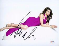 Hot Sexy Bollywood Deepika Padukone 8X10 PSA DNA BAS Dual Authenticated Photo 1