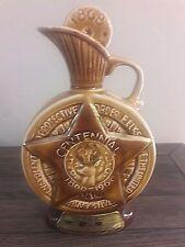 Vintage Jim Beam Decanter Bottle - 1968 Elks Ann Centennial - Collector Kentucky