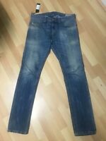 NWD Men Diesel THAVAR Denim 0826D BLUE Slim W30 L32 H6.5 RRP£150