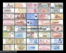 ASIA BANKNOTE COLLECTION - 60 DIFFERENT UNC BANKNOTES 60 PCS  SET # 4