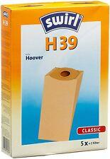 SWIRL H39 5 SACCHETTI SCOPA HOOVER ACENTA H21A H21P S827E S589E S586E S585E S580