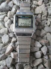 Casio data bank telememo 100 dbx-110 Quartz 32 mm 80er años 1980s para aficionados al bricolaje