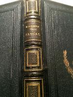 1898 EO PASCAL par SOURIAU VIE et OEUVRE PENSEES..JOLI LIVRE RELIE BOOK HISTOIRE