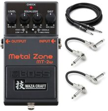 New Boss MT-2w Metal Zone Distortion Guitar Effects Pedal!