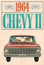 1964 Chevrolet CHEVY II 2 Brochure/ Catalog: NOVA, 100, Station Wagon........NOS