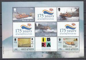 Navires Île Man H - Feuille 72 ( MNH