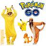 Charmander Adult Animal Pajamas Pikachu Onese`Kids·Costume Pyjamas