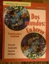 Dos mundos: En breve by Terrell, Andrade, *** ANNOTATED INSTRUCTOR'S EDITION ***