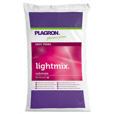 Plagron Light Mix 50L LightMix Pflanzerde mit Perlite Light-Mix minimal gedüngt